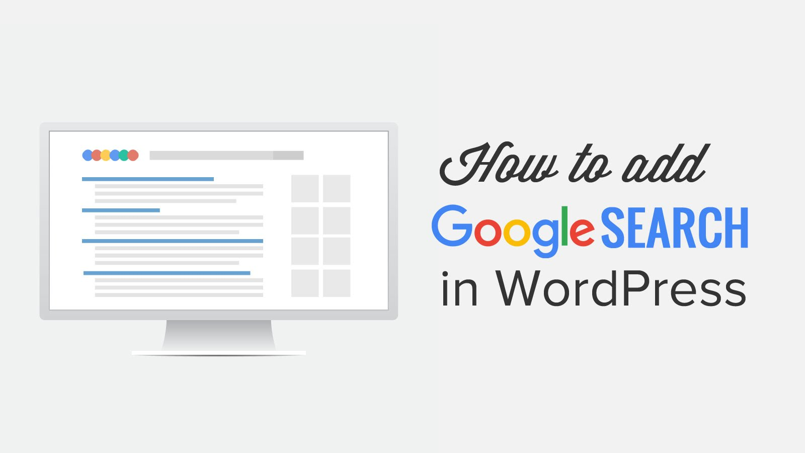 Add a Google Custom Search to Your WordPress Site